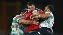 Munster eke out Treviso win and climb to second