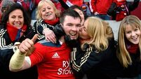 PICTURES: Six-try Munster turn on the style
