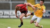 Down demolish Leitrim's footballers