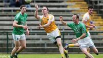 Antrim need last-gasp goal-line clearance to get past Fermanagh