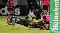 Cardiff weather late Glasgow fightback
