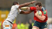 Table-toppers Munster breeze past Perpignan