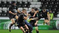 Biggar kicks Ospreys to first Cup win of the season