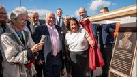 'Better to have a bridge than a wall': Mary Elmes Bridge officially opened by her son