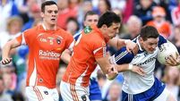 Monaghan star McManus shakes off injury to sink Armagh
