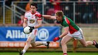 Tyrone keep Mayo at the bottom of the table