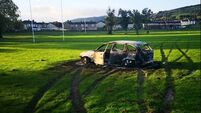 GAA club to hold urgent meeting after joyriders damage pitches puts club's 'survival at stake'