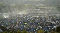 Glasto opens for business