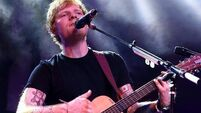 Record label gets super excited as Ed hits no. 1 in the US