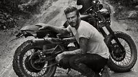 Becks bikes it in Brazil ahead of World Cup