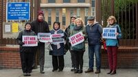 Hospitals not place for anti-abortion rallies say ministers; Campaigners defend right to peaceful protest
