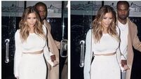 Kimye in Paris to start 'wedding week'