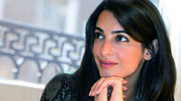Bridal shower for Amal as she prepares to marry Clooney