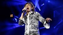 Jagger makes first stage appearance since partner's death