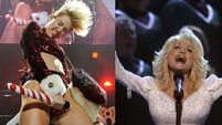 Miley 'desperate' to play Dolly Parton in biopic
