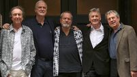 Monty Python set for final show