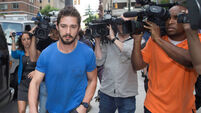LaBeouf 'caught peeing on restaurant wall'