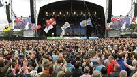 Woman suffers spinal injuries at Glastonbury