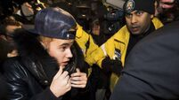 Bieber charged with criminal vandalism