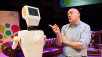 Stevie the wonder robot brings 21st-century touch to helping elderly