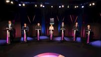 Leaders' Debate: Housing and crime dominate as leaders clash on policies and coalition options