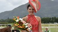 Watch: Lady in red Siobhán wows at Killarney Races