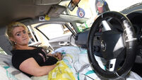 Pregnant woman has to live in her car