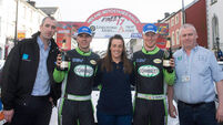 Sam Moffett tightens grip in National Rally race