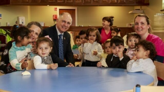 Crèche will 'help refugee children learn through play'