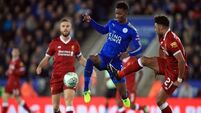 Leicester make Klopp's wasteful Liverpool pay