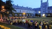 Some sights and sounds form Darkness into Light walks at UCC and Ballincollig