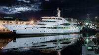 Luxury superyacht Lady Christine berthed in Cork could be yours - for €53m