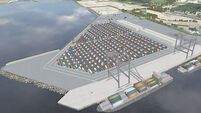 Port upgrade will take containers out of city