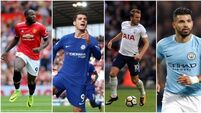 Battle lines drawn in the new golden age of Premier League strikers