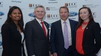 WATCH: UCC welcome and honour Ford Executive Chairman William Clay Ford Jr