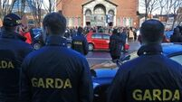 Significant Garda presence at funeral of gangland feud victim