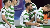 Leigh Griffiths shows way as brilliant Celtic ease past sorry Anderlecht