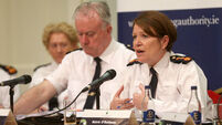 29/09/2016. The Garda Commissioner Noirin O'Sull