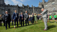 Hope and history rhyme for Prince Charles' visit