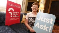 'I leapt at chance to be involved in cancer trial'