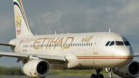 Etihad appoints Irishman Gammell as interim CEO