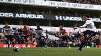 Alli rises to challenge in Kane's absence