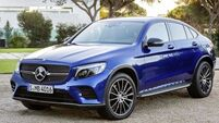 Cool Mercedes-Benz GLC 220d Coupé with go-anywhere potential