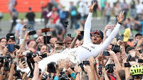 Lewis Hamilton forced to make a quick U-turn after post about nephew