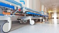 Three Irish hospitals have at least 50 patients on trolleys
