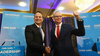 Simon Coveney stages comeback