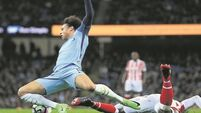 Man City fail to break Stoke's resolve in goalless draw