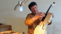Conor Russell: Keeping the violin-making tradition alive