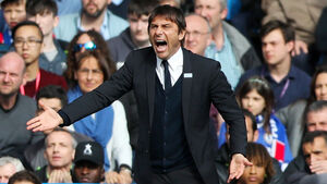 Antonio Conte accepts race is back on after Chelsea's surprise defeat against Crystal Palace