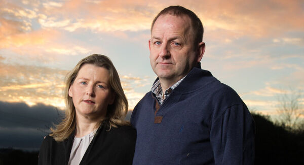 Maurice McCabe and his wife Lorraine.